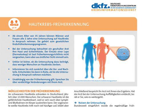 Genitalbereich hautkrebsscreening Untersuchungsablauf